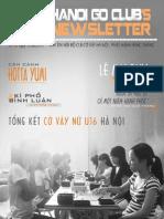 Bản tin clb Cờ Vây Hà Nội số 10 - tháng 8/2012