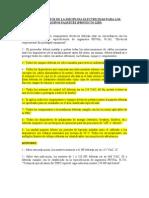 Requerimientos de La Disciplina Electricidad Para Los Equipos Paquetes