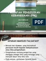 Falsafah Pendidikan Kebangsaan (FPK)
