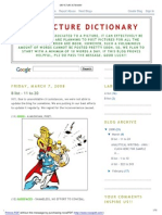 GRE Picture Dictionary