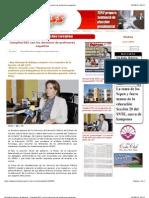 30-08-2012 Periódico Express de Nayarit - Cumplirá RSC con los derechos de profesores nayaritas