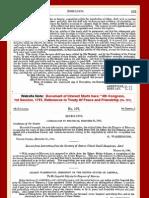 Congress Treaty References