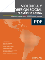 Violencia y Cohesion Social en América Latina
