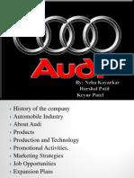 Audi 9-9-11.harshal