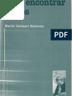 Gelabert, Martin - Para Encontrar a Dios