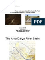 Amu Darya River Basin Presentation