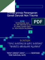 Prinsip-prinsip Penanganan Gawat Darurat Non Trauma