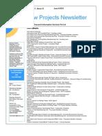 IndScan Projects Newsletter Jun II 12