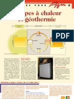 Pompes a Chaleur Et Geothermie