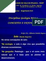 Aula 01 - FAVIP - Geologia      -Introdução 02-10-08-2011