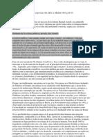 ROWE (1985) La IBA Entre Res Publica e Res Privata 8p