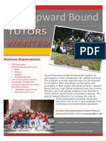Tutor Wanted Flyer