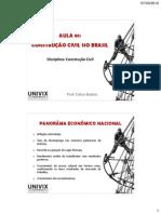 AULA 01-a construção civil no Brasil