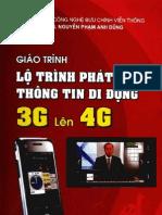 GIÁO TRÌNH LỘ TRÌNH PHÁT TRIỂN THÔNG TIN DI ĐỘNG 3G LÊN 4G