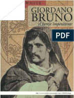 25389131 White Michael Giordano Bruno El Hereje Impenitente