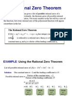 Rational Theorem
