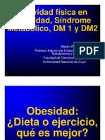 Actividad Física en Obesidad, Síndrome Metabólico, DM 1 y DM2