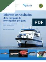Informe de resultados de la campaña de investigación pesquera