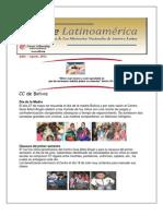 Boletín LatinoAmerica- Julio-Agosto