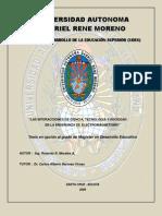 Las Interacciones de ciencia, tecnologia y sociedad en la enseñanza de electromagnetismo