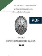 MC115CienciadeMaterialesII