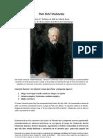 Piotr Ilich Tchaikovsky - Concierto Numero 1 en Si Bemol (1)