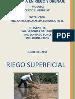 Riego Superficial Presentacion