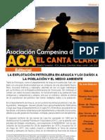 Boletín Informativo Asociación Campesina de Arauca