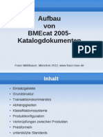 Aufbau von BMEcat 2005-Katalogdokumenten