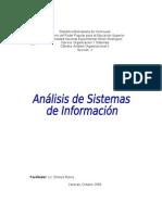 Unidad 3 Analisis de Sistemas de Informacion