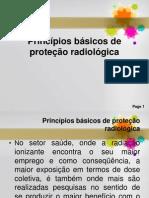 Princípios básicos de proteção radiológica