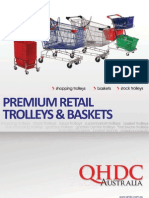 QHDC Premium Retail Trolleys Baskets Spares