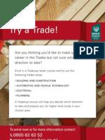 2055 TradesUp Flyer