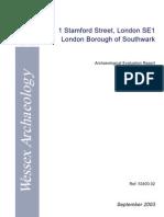 Stamford Street, London Borough of Southwark