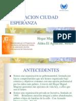 Asociacion Ciudad Esperanza Version Espanol 2010