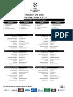 Calendario Champions 2012-13