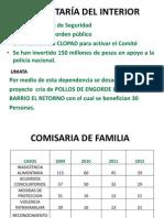 Informe de Gestion 2012 Secretaria Del Interior
