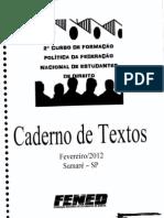 Caderno de Textos - II CFP FENED