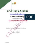 Gd-pi Iit Delhi & Madras, Iift & Glim