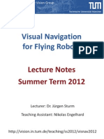 Visnav Lecture Notes