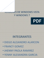Caracteristicas Tecnicas Windows 7 y Vista
