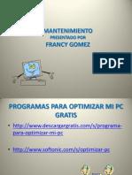 Programas Para Optimizar Mi Pc Francy