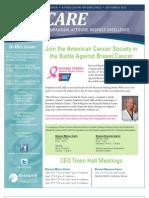 CARE Newsletter - September 2012