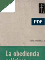 Hausher, Ireneo - La Obediencia Religiosa