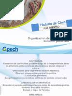 CLASE 9 HCH Organización de la República y solución portaliana