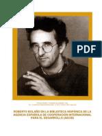 Roberto Bolano Dossier