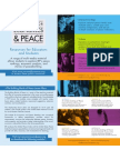 Building Blocks of Peace Brochure