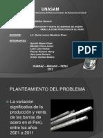 Producción y Venta de Barras de Acero para la construcción