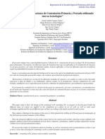 """""""Metodología en Operaciones de Cementación Primaria y Forzada utilizando nuevas tecnologías"""""""