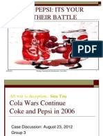 Cola Wars Section a Group 3